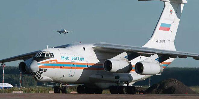 Rusya Olağanüstü Durum Bakanlığı Lübnan'a Acil Yardımlar Taşıyan 5 Uçak Gönderdi