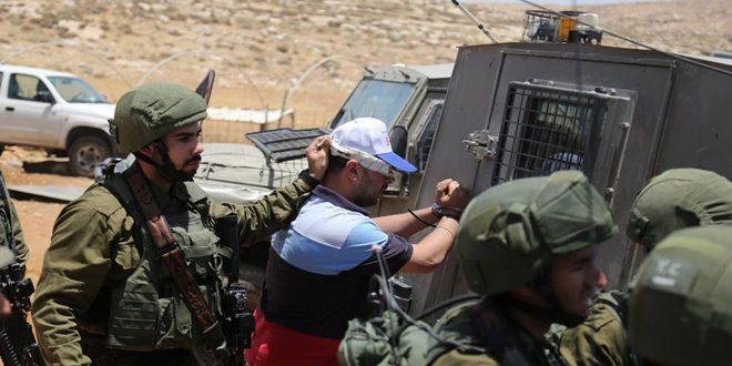 İşgalci Güçleri Batı Yaka'da 6 Filistinliyi Tutukladı