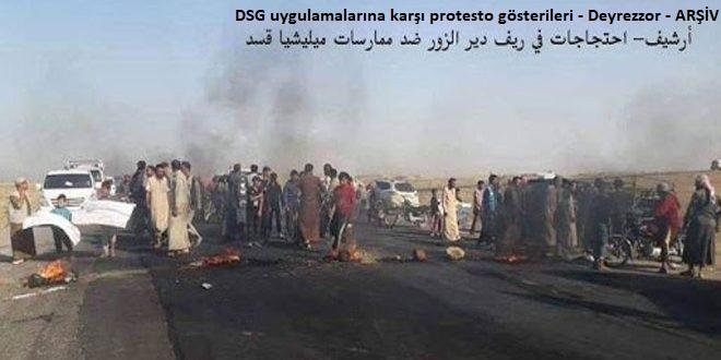 Dördünün Öldürüldüğü DSG Milislerine Yönelik Saldırılar Sürüyor
