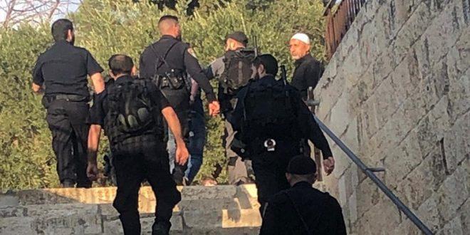 İşgalci İsrail Güçleri İşgal Altındaki Kudüs'te 3 Filistinliyi Tutukladı