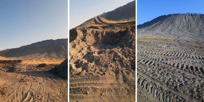 Türk İşgali ve Terörist Çeteleri Rakka'daki Hod Balih'in Arkeolojik Alanları Tahrip Ediyor