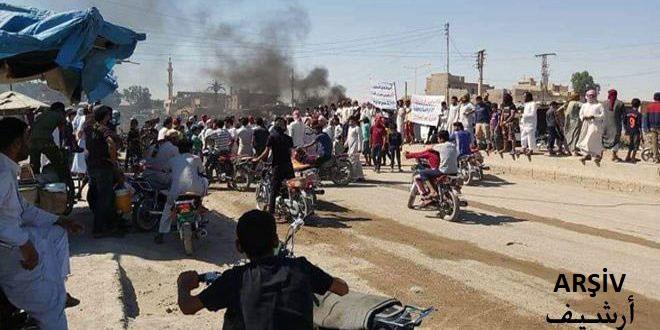 İşgalci Türk Kuvvetleri Kiralıkları Yolları Keserek Haseke Rasul Ayn Bölgesindeki Sivillere Haraç Dayatıyorlar
