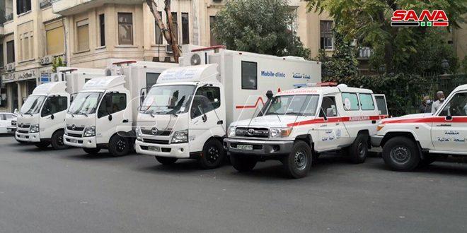 Sağlık Bakanlığı DSÖ'den 3 Ambulans, 5 De Mobil Klinik Aracı Teslim Aldı