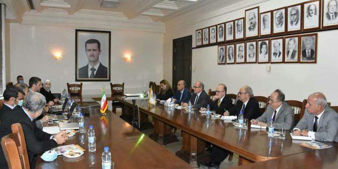 Tıp Bilimleri Ve Mühendislikte İşbirliğini Pekiştirmede Suriye-İran Görüşmeleri
