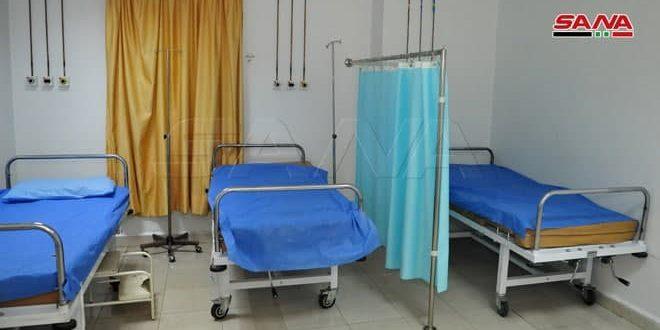 Şam Kırsalındaki Hastanelerinde Korona Hastaları İçin İzolasyon Bölümleri Tahsis Edildi