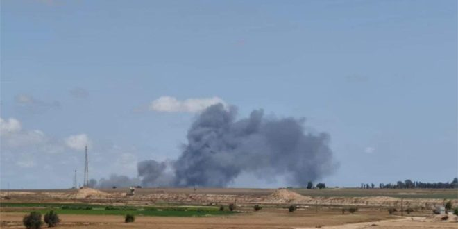 Filistin Direnişi Gazze'nin Civarındaki İsrail'in Yerleşim Alanlarını Bombaladı