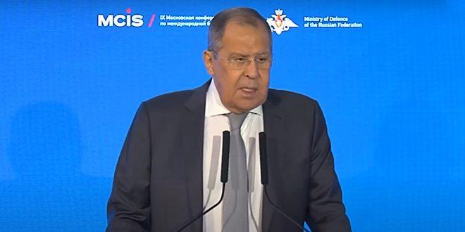 Lavrov: Terörle Mücadelede ve Suriye'deki Krize Siyasi Çözüm Bulunmasında Suriye'ye Destek Vermeye Devam Edeceğiz