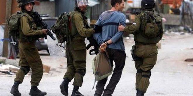 İsaril İşgal Güçleri, Batı Yaka'nın Farklı Bölgelerinde 12 Filistinliyi Tutukladı