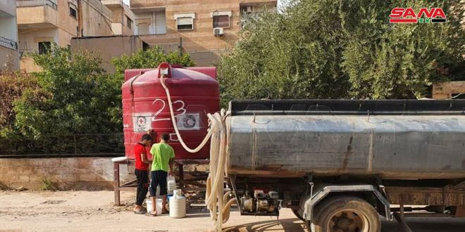 İşgalci Türkiye ve Kiralıkları Haseke'de Bir Milyon Vatandaşın Suyunu Kesmeye Devam Ediyor
