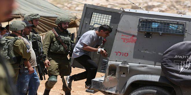 İsrail İşgal Güçleri, Beyt Lahm Kentinde Bir Filistinliyi Tutukladı