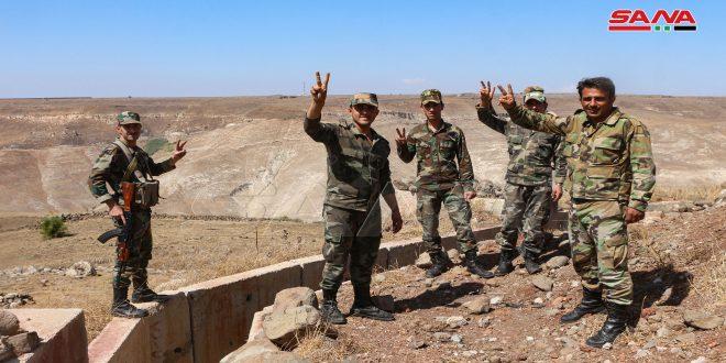 Dera.. Ordu Birlikleri Maariya Köyünün Eteklerine Daha Fazla Askeri Noktalar Kuruyor