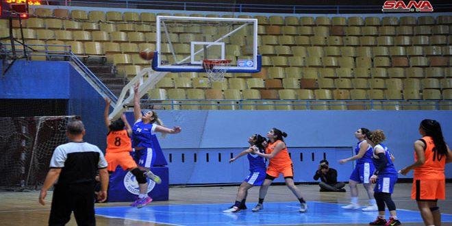 فريق سيدات قاسيون لكرة السلة يقدم موسماً استثنائياً