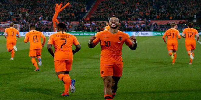 هولندا تتغلب برباعية على بيلاروس في تصفيات أوروبا 2020