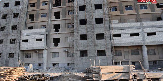 اللجنة الوزارية تطلع على تنفيذ المشاريع التنموية والسياحية في أسواق حمص القديمة والريف الغربي