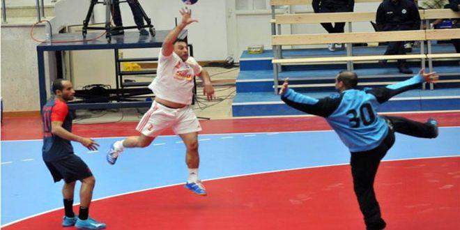 الجيش يبلغ الدور الثاني لبطولة الأندية الآسيوية بكرة اليد