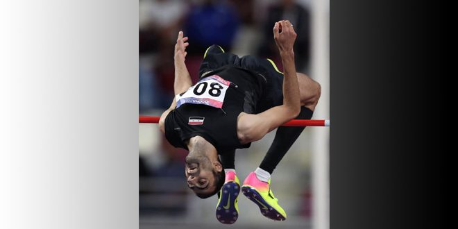 غزال يحرز ذهبية مسابقة الوثب العالي ضمن بطولة آسيا لألعاب القوى