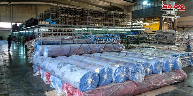 565 منشأة دخلت مرحلة الإنتاج في المدينة الصناعية بالشيخ نجار