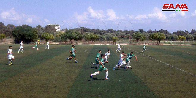 استعداداً لدوري الشباب بكرة القدم… حطين يتعادل مع الحرية