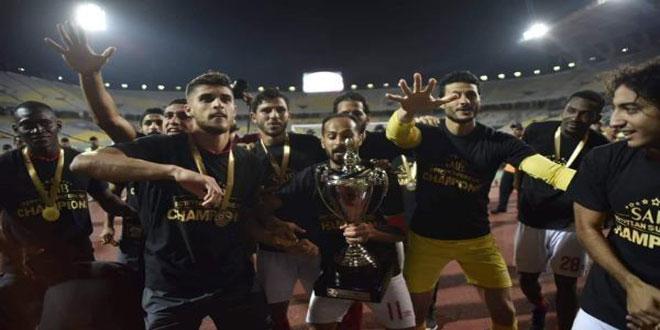الأهلي يفوز على الزمالك ويحتفظ ببطولة السوبر المصري