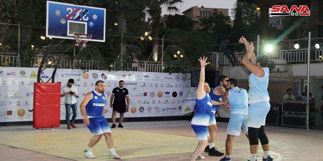 اختتام بطولة كرة السلة 3ضرب3 للفعاليات الاقتصادية بحلب