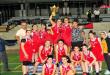 فريق الأشرفية يتوج بلقب بطولة القسم والنصر بكرة السلة للسيدات
