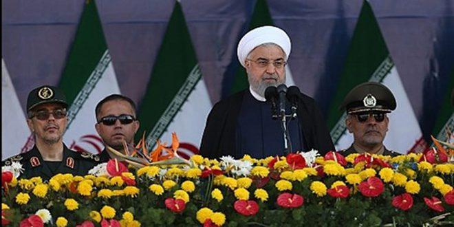 روحاني: نقف إلى جانب الشعبين السوري والعراقي في استئصال جذور الإرهاب