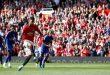 مانشستر يوناتيد يحقق فوزاً صعباً على ضيفه ليستر في الدوري الإنكليزي لكرة القدم