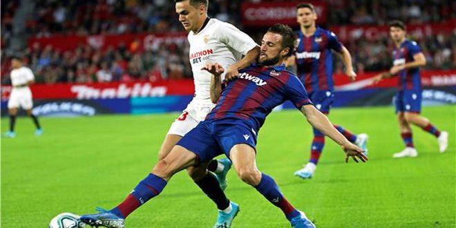 إشبيلية يهزم ليفانتي 1-صفر بدوري الدرجة الأولى الإسباني