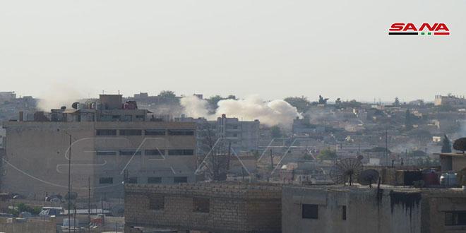 شلاباتا: العدوان التركي على الأراضي السورية تهديد لأمن المنطقة
