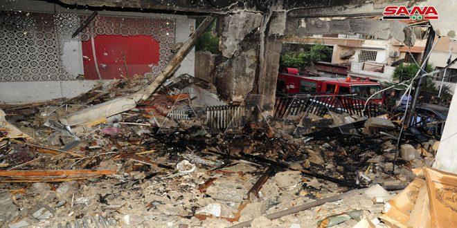 منظمات فلسطينية: العدوان الإسرائيلي على حي المزة بدمشق وقطاع غزة المحاصر سيعزز روح المقاومة لدحر الاحتلال
