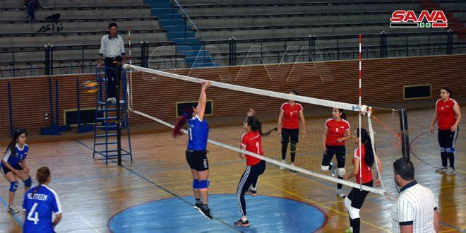 فوز أول لسيدات تلدرة ومحردة في دوري كرة الطائرة