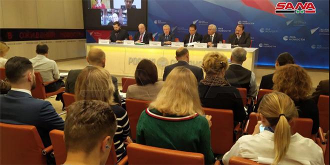 بمشاركة سورية.. ندوة في موسكو حول حق الدول في الدفاع عن استقلالها وسيادتها