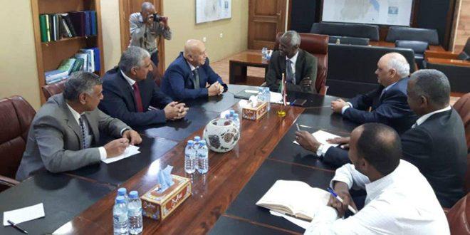 السودان ومركز أكساد يتفقان على تنفيذ مشروع مشترك لحصاد مياه الأمطار