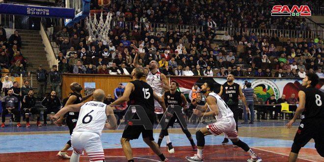 الاتحاد يفوز على الوثبة بذهاب دور الستة في كأس الجمهورية لكرة السلة للرجال