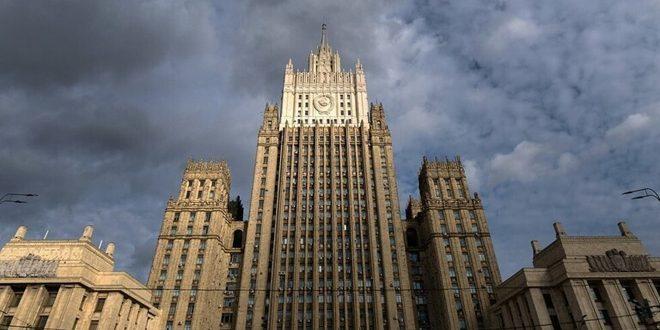 لافرينتييف يبحث مع مستشار رئيس الوزراء البريطاني الوضع في سورية