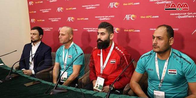 إبراهيم: النقاط الثلاث هدفنا ولاعبونا جاهزون بدنياً ونفسياً