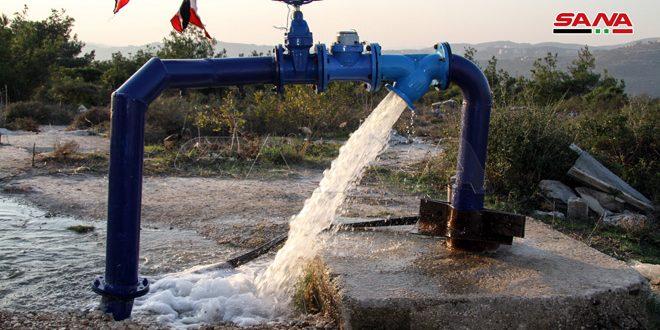 بهدف تحسين الواقع الخدمي…بئرا مياه ومخبز في ريف طرطوس