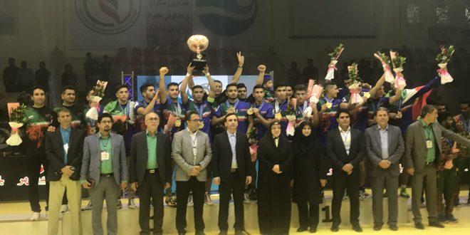إيران تحرز بطولة العالم للشباب برياضة الكبادي