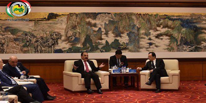 المهندس الهلال يبحث في بكين العلاقات مع الحزب الشيوعي الصيني وسبل تعزيزها