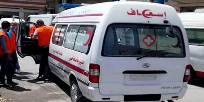 منظومة الإسعاف والطوارئ بحمص تتعافى تدريجياً وتوفر أكثر من 4300 خدمة منذ بداية العام