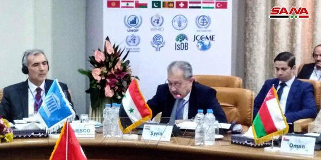 سورية تشارك في اجتماع مجلس المركز الإقليمي لإدارة المياه الحضرية بطهران
