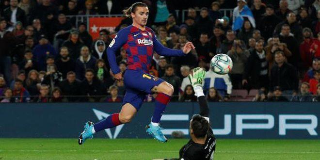 برشلونة يفوز على ريال مايوركا في الدوري الإسباني لكرة القدم