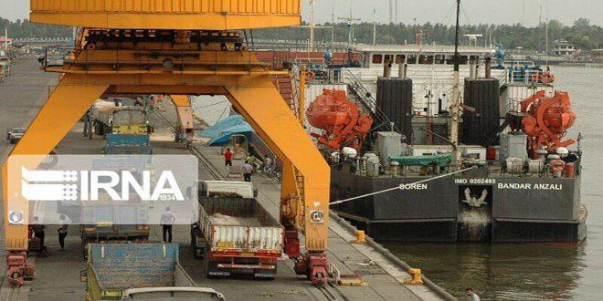 110 ملايين طن من السلع حجم التجارة الخارجية لإيران