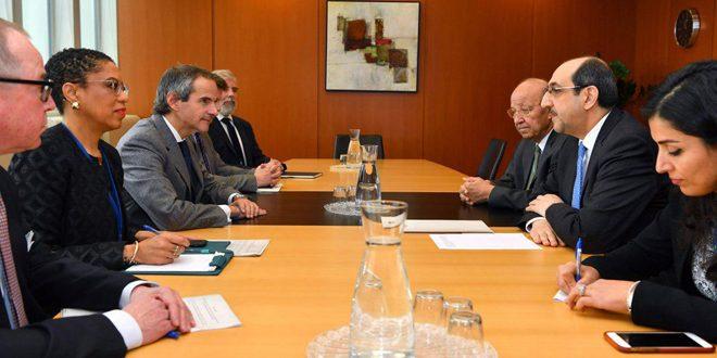 سورية تؤكد التزامها بتعزيز تنفيذ الصكوك القانونية المتصلة بعمل الوكالة الدولية للطاقة الذرية