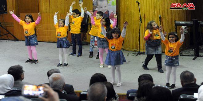 بمناسبة اليوم العالمي للأشخاص ذوي الإعاقة.. (معاً نستطيع) احتفالية بكلية التربية بجامعة دمشق