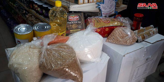 السورية للتجارة بدمشق: بيع 8 آلاف سلة غذائية وزيادة المبيعات 300 بالمئة خلال الشهر الماضي
