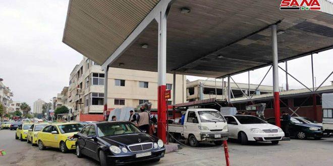 التجارة الداخلية وحماية المستهلك بريف دمشق تغلق محطات ومراكز لتوزيع المحروقات
