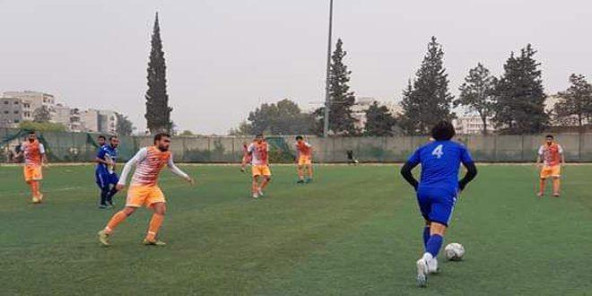 فوز النواعير وحطين على مورك والتضامن في لقاءات ودية بكرة القدم