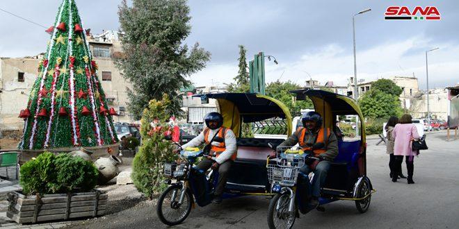 دمشق القديمة بدون سيارات… فعالية لمعرفة احتياجات القاطنين والزائرين