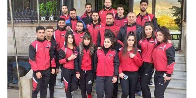 خمس وثلاثون ميدالية متنوعة لسورية في اليوم الأول من البطولة العربية لرفع الأثقال